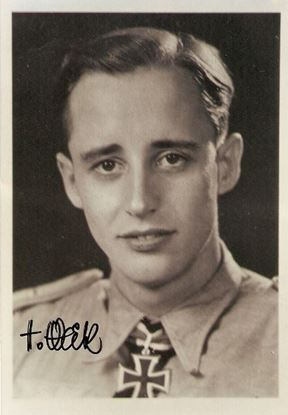 Picture of Hauptmann Hans Weik - SOLD