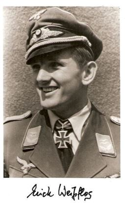 Picture of Oberleutnant Erich Weisflog SOLD