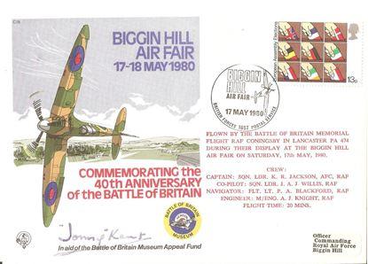 Picture of John Jonny KENT Signed FDC 303 Squadron