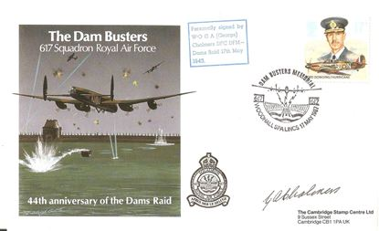 Picture of George Chalmers 617 Squadron Dambusters Signed FDC