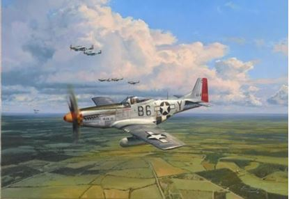 Picture of American Eagles by Robert Taylor - Victory in Europe Edition SOLD