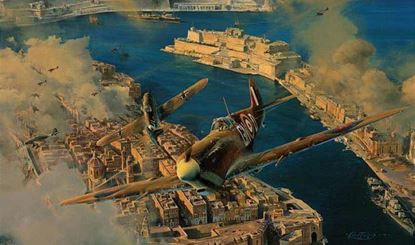 Picture of Malta - George Cross by Robert Taylor - Malta Edition SOLD