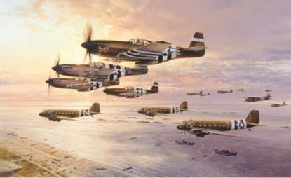 Picture of D-Day - The Airborne Assault by Robert Taylor SOLD