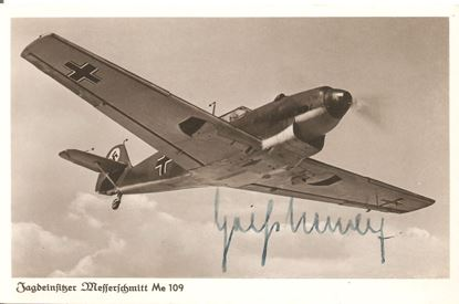 Picture of Friedrich Geisshardt - Wartime Signed Card