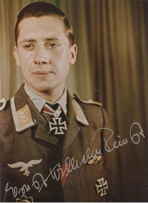 Picture of Ernst-Wilhelm REINERT Signed Colour Photo
