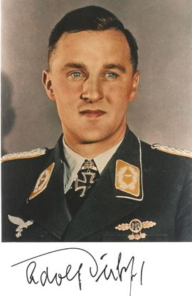 Picture of Adolf DICKFELD Signed Colour photo