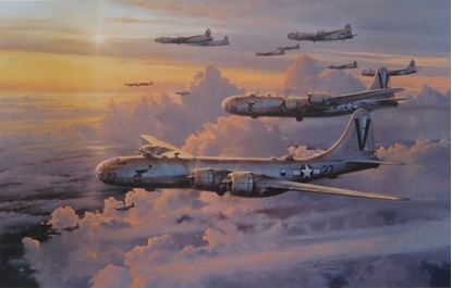 Picture of Valor In The Pacific by Robert Taylor SOLD