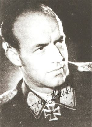 Picture of Anton 'Toni' Hackl Signed Photo SOLD
