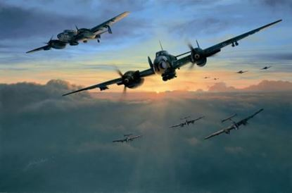 Picture of Dawn Strike by Richard taylor - SOLD