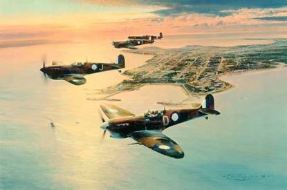 Picture of Spitfires Over Darwin by Robert Taylor - The Guardian's Edition SOLD