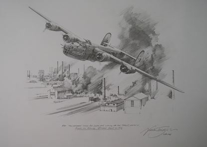 Picture of The Sandman at Ploesti - Original pencil Drawing by Nicolas Trudgian