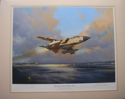Picture of Operation Desert Storm 1991 By Frank Wootton SOLD