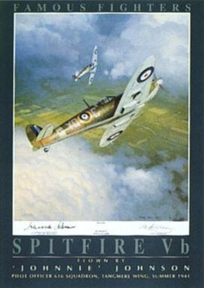 Picture of Spitfire Vb of Johnnie Johnson SOLD OUT