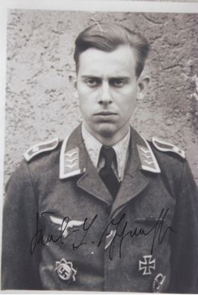 Picture of Karl-Ludwig Johannsen Signed Photo