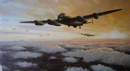 Picture of Lancaster Dusk by Mark Postlethwaite SOLD