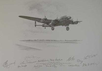 Picture of To Sink The Tirpitz Original Drawing by Nicolas Trudgian - Signed 13