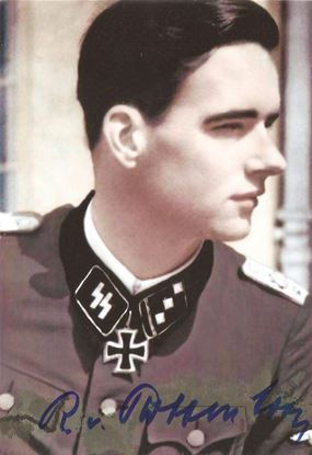 Picture of Rudolf Von RIBBENTROP Signed Photo SOLD