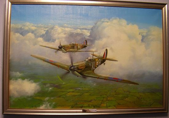 Picture of Looking For Trouble by Melvyn Buckley - Canvas Giclee