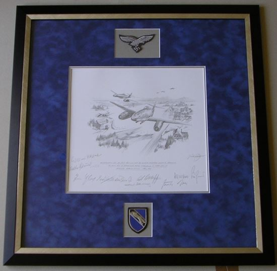 Picture of Return Of The Hunters Original Drawing by Nicolas Trudgian SOLD