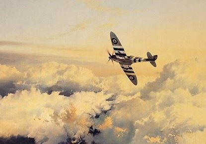 Picture of Wings of Glory by Robert Taylor Battle of Britain Portfolio - The Artists Collection SOLD
