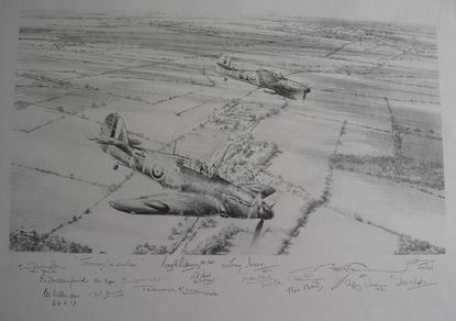 Picture of TOMMY LEADER - Original Pencil Drawing by Robert Taylor SOLD