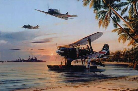 Picture of Dawn Operations by Robert Taylor - Multi-Signed