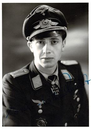 Picture of Ernst Wilhelm REINERT - Signed Photo
