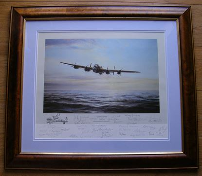 Picture of LIMPING HOME By Robert Taylor - Multi-signed Remarque SOLD