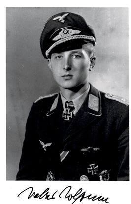 Picture of Walter WOLFRUM - JG52 - Signed Photo