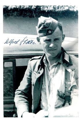 Picture of Alfred STELTER - DKiG Heer - Signed photo