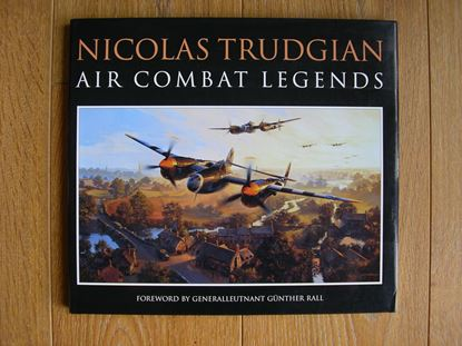 Picture of AIR COMBAT LEGENDS - BATTLE OF BRITAIN BOOKPLATE EDITION by Nicolas Trudgian