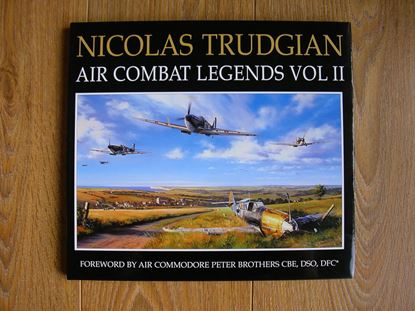 Picture of AIR COMBAT LEGENDS Volume 2 - BATTLE OF BRITAIN SIGNED BOOKPLATE EDITION by Nicolas Trudgian