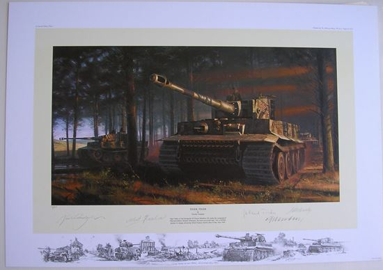 Picture of Tiger Tiger - Panzer Aces Edition Special Remarque - Nicolas Trudgian SOLD