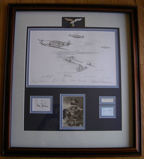 Picture of Scramble From Audembert - Original Pencil Drawing by Nicolas Trudgian SOLD