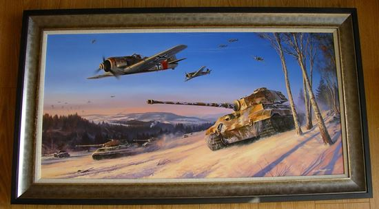 Picture of ARDENNES OFFENSIVE by Nicolas Trudgian - Original Oil Painting