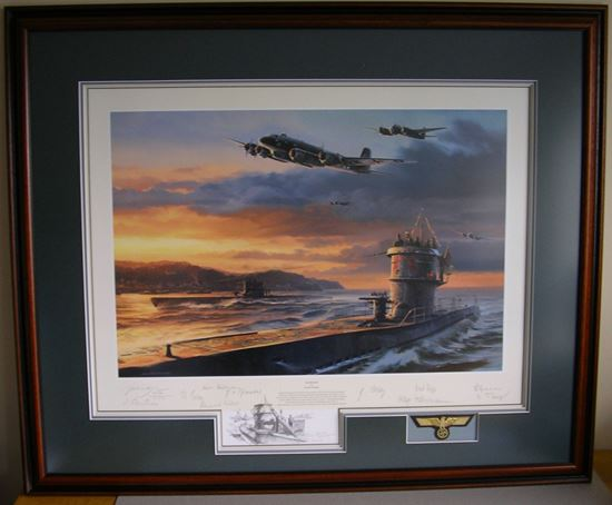 Picture of SEA WOLVES - Nicolas Trudgian - WolfPack Double Remarque SOLD