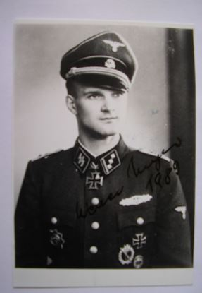 Picture of WERNER MEYER Knights Cross 5th SS Panzer Division 'Wiking' SOLD