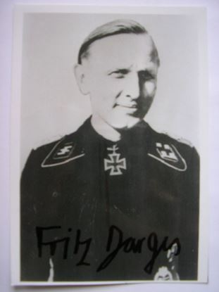 Picture of FRITZ DARJES - Knights Cross 5th SS Panzer Division 'Wiking' SOLD