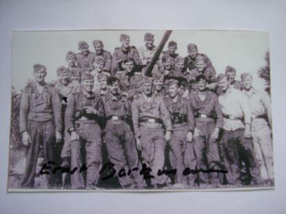 Picture of ERNST BARKMANN Knights Cross - 2nd SS Panzer Division 'Das Reich'