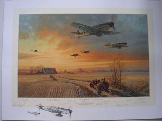 Picture of THE LONG SHORT DAYS By Robert Taylor DOUBLE REMARQUE