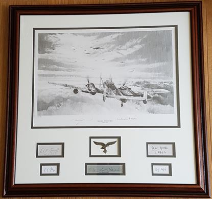 Picture of BEFORE THE STORM By Robert Taylor - Special Framed Piece