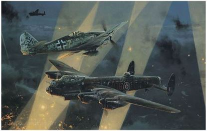 Picture of NO TURNING BACK By Robert Taylor Bomber Command Edition