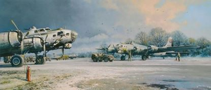 Picture of CLEARING SKIES By Robert Taylor  10 Signature Collector's Edition